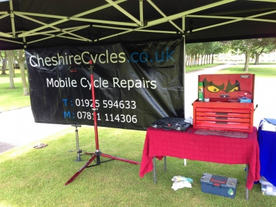 Dr Bike Events - Birchwood Business Park 2015 1