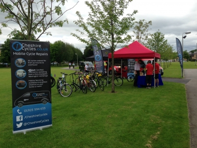 Dr Bike Events - Birchwood Business Park 2015 2