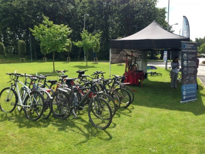 Dr Bike Events - Birchwood Business Park 2015 3