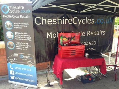 Dr Bike Events - United Utilities 2015