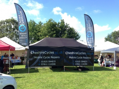 Dr Bike Events - Stockton Heath Festival 2015